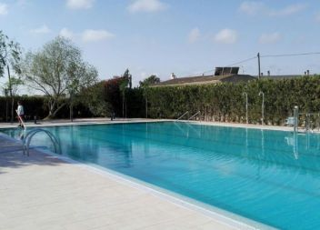 La piscina de Sant Llorenç, per fi oberta al públic
