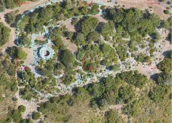 Es topografia el Claper dels Gegants, a Canyamel