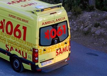 Un ciclista ferit greu després de caure a la carretera de s'Illot a Sant Llorenç