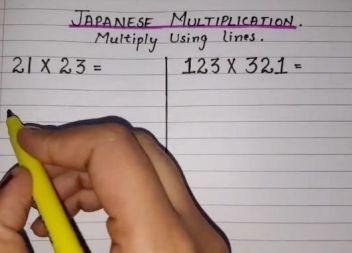 Mètodes matemàtics que no fallen: 'La multiplicació japonesa'