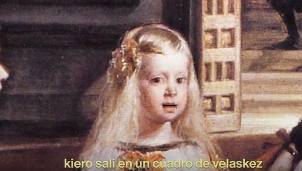 El 'trap' sobre 'Las meninas' de Velázquez que triomfa a la xarxa