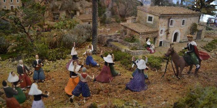 Un betlem que amaga un Sant Antoni