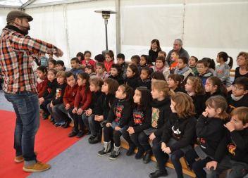 Milers d'escolars participen enguany activament de la festa de Sant Antoni a Manacor
