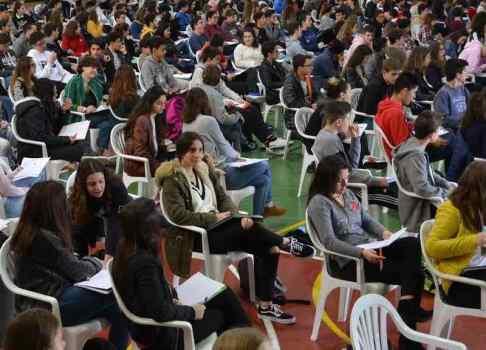 600 alumnes participen a les proves Cangur 2018 a Manacor