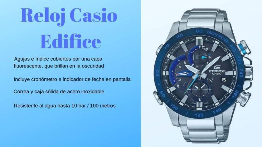 Reloj Casio Edifice sumergible