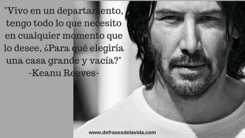 Vivo en un departamento tengo todo lo que necesito  1024x576 - Keanu Reeves frases, mensajes de la vida