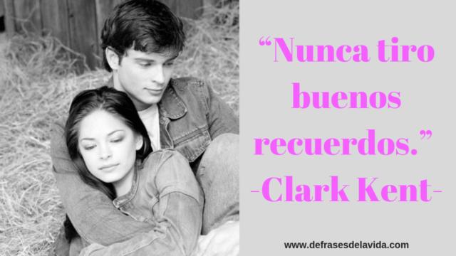 """Nunca tiro buenos recuerdos."""" Clark Kent 1 1 640x360 - Smallville frases"""