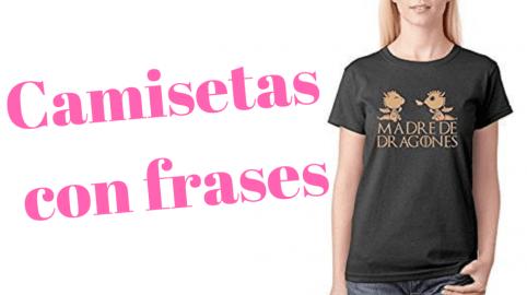 Camisetas con frases personalizadas