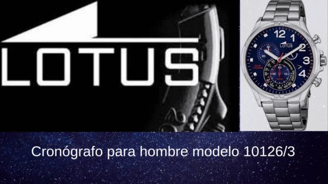 Lotus Cronógrafo para hombre modelo 10126_3