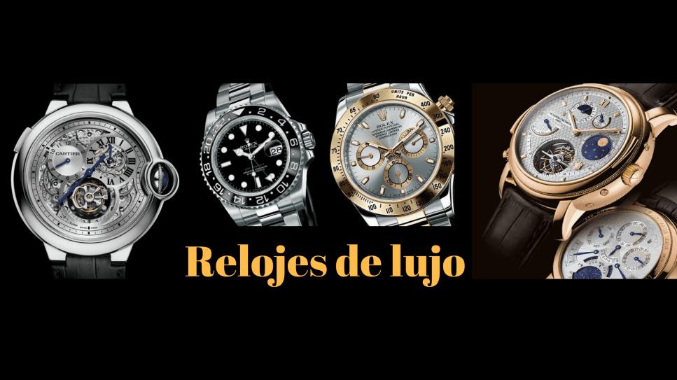 Relojes de lujo, relojes exclusivos