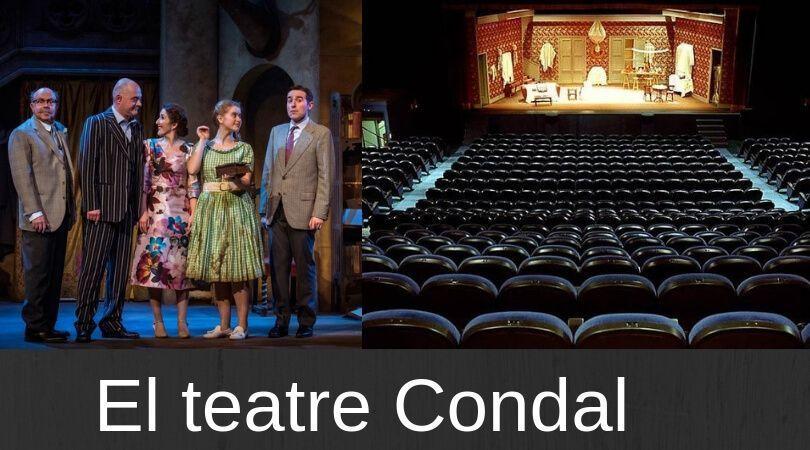 El teatre Condal - Barcelona frases