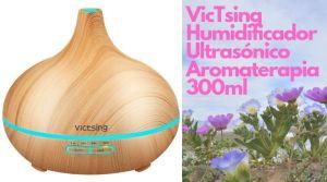 VicTsing Humidificador Ultrasónico 300 aromaterapia - De frases de la vida