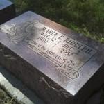 Maria's grave