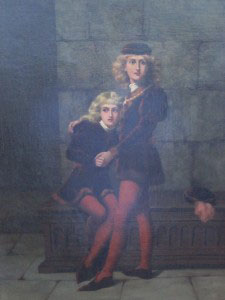 Painting of the Princes in the Tower