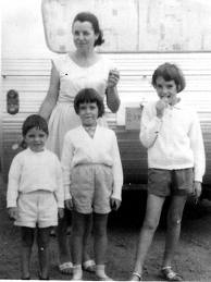 Beaumont Children with their mother