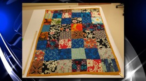 quilt found in Cathy Zimmer case