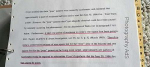 Affidavit Richard L.P. Custer regarding the burn pattern in the Richey case