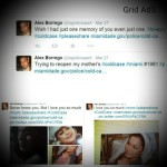 Alex' tweets, Grid AdS