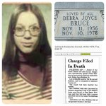 Who murdered Debra Joyce Bruce?