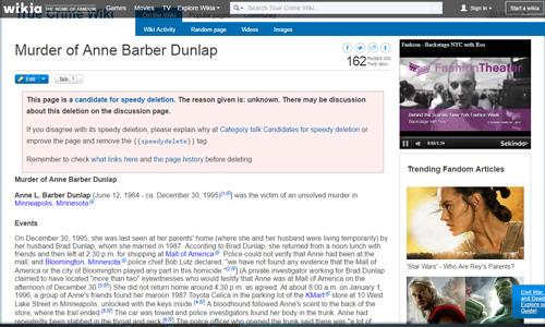 True Crime Wiki 1/Anne L. Barber Dunlap