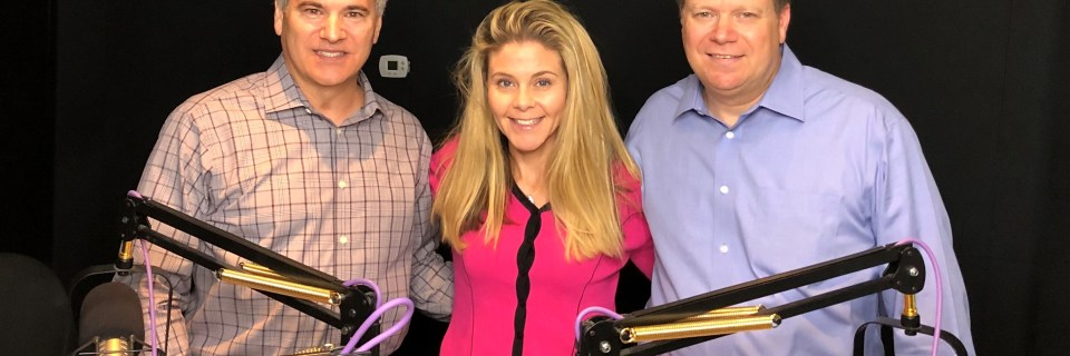 Partners Andy and Bryn DeFusco with Mike Weinstein, KTAR 92.3