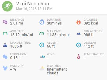 3-16-16 run
