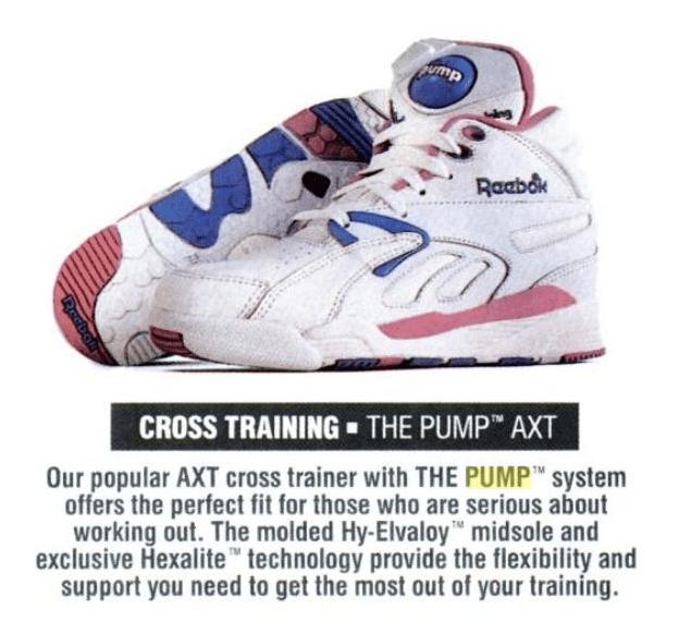 Reebok AXT II Cross Training Pump 1991   DeFY. New York-Sneakers ... e005f345a