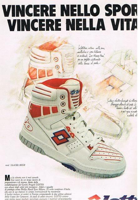 Lotto Basketball Shoes