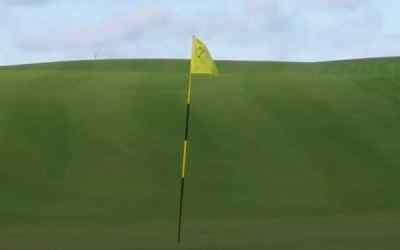 Golfbanan stängd fr o m 1 oktober t o m söndag den 3 oktober