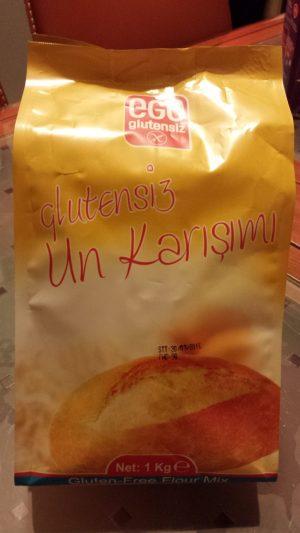 Ege glutensiz ekmek un