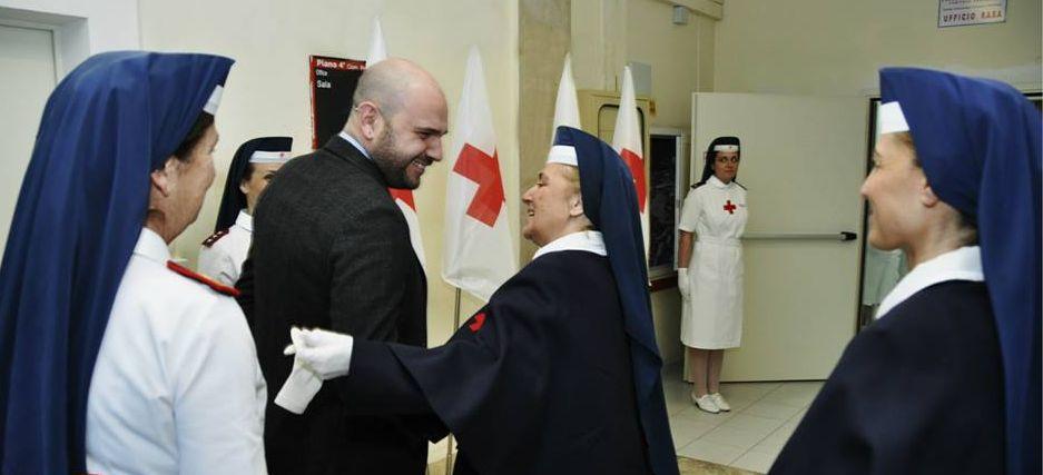 Croce Rossa: nomina Ispettrici delle Crocerossine, punto e a capo.
