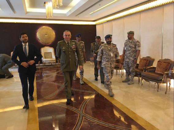 Qatar: il Generale Graziano fa visita al Generale Al Ghanim