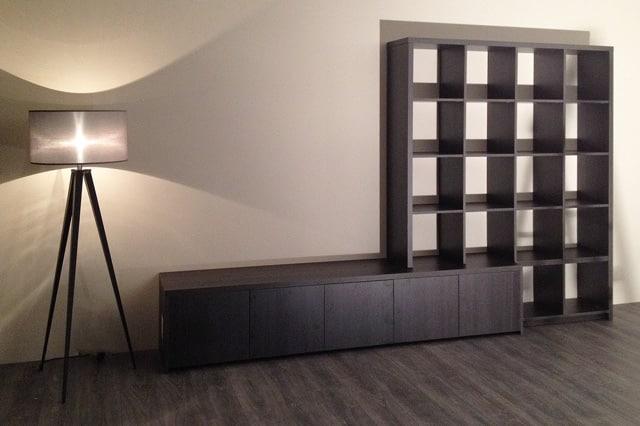Kast Ontwerpen Programma : Grote witte kast in moderne woonkamer ontwerpen u stockfoto