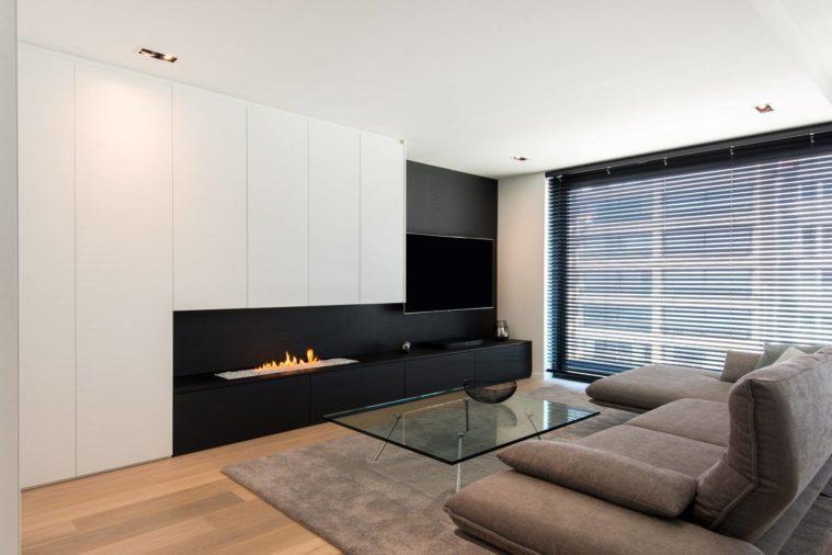 wandmeubel tv - tv meubel op maat - De Graaf