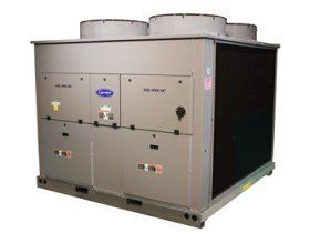 Carrier commercial chiller Degree Heating & Cooling