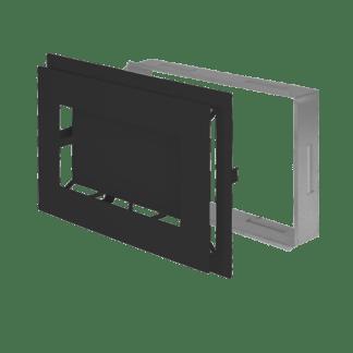 Ventilatierooster Decco 20x30 zwart