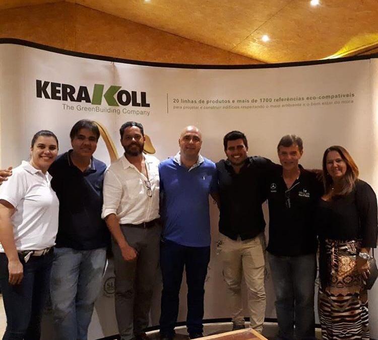 DH e Kerakoll oferecem treinamento para profissionais da construção