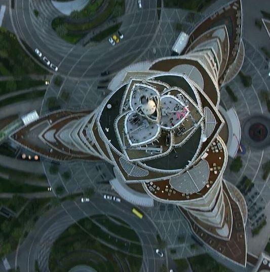 Projeto arquitetônico do Burj Khalifa foi inspirado no lírio-aranha