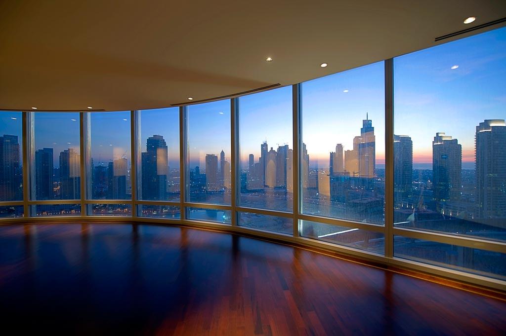 Apartamentos contam com uma vista incrível!