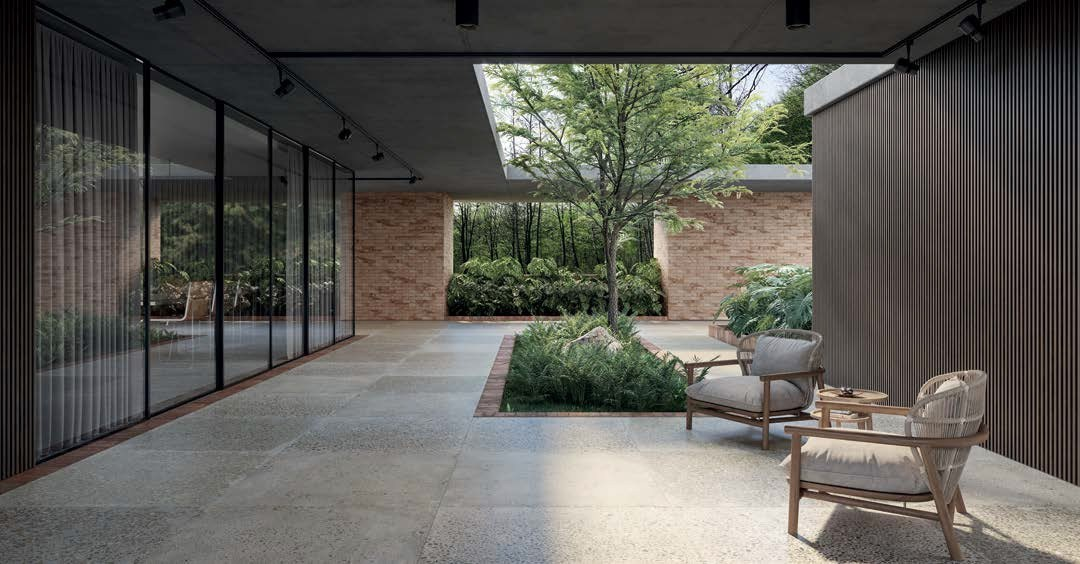 Integração com a natureza se torna essencial em projetos de arquitetura e construção