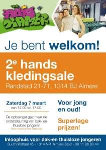 2e hands kledingsale Almere