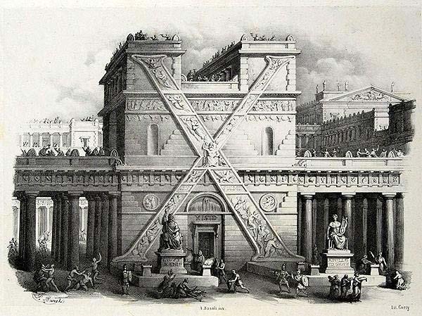 Capolettera X di Antonio Basoli
