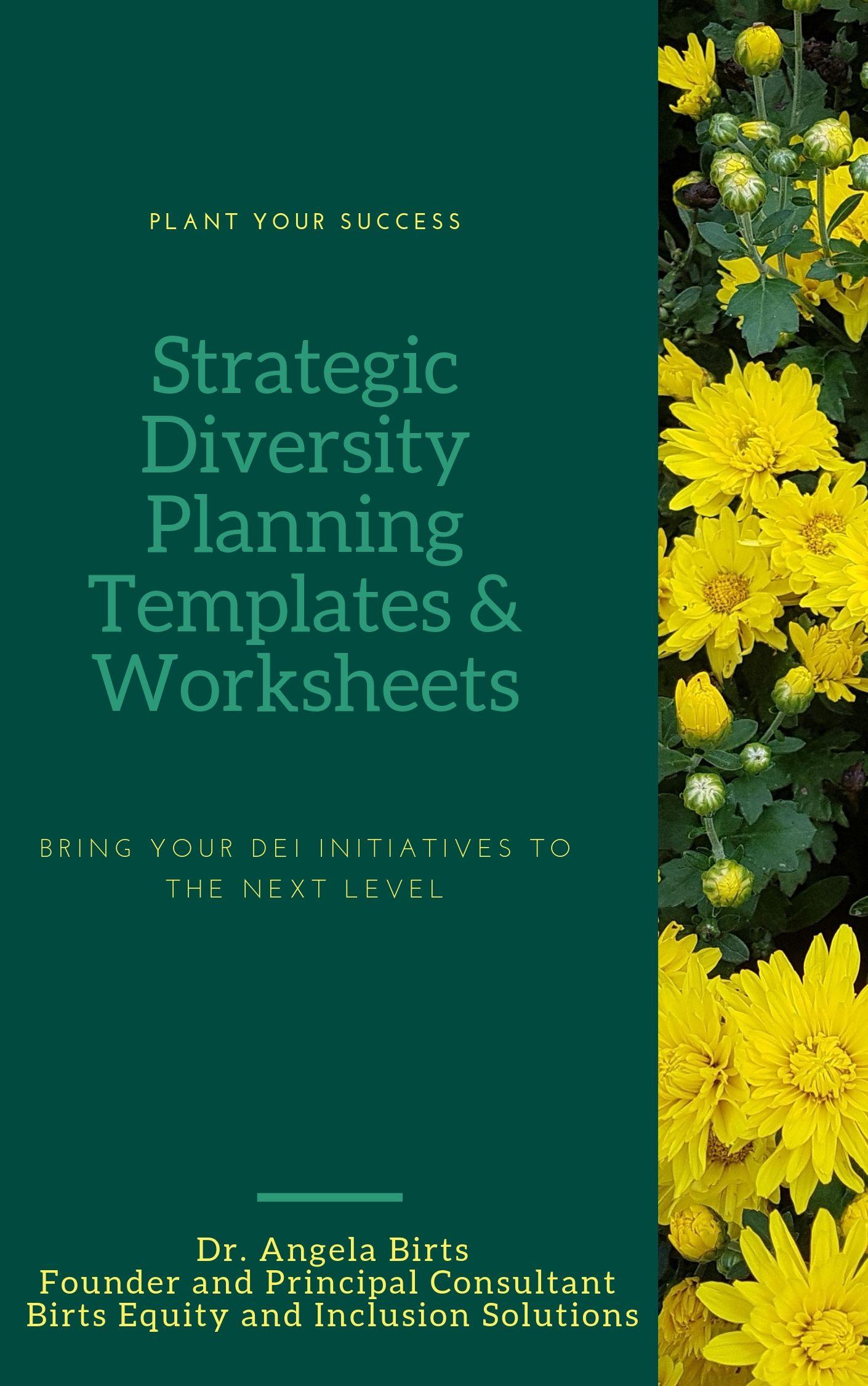 Strategic Diversity Planning Templates Amp Worksheets