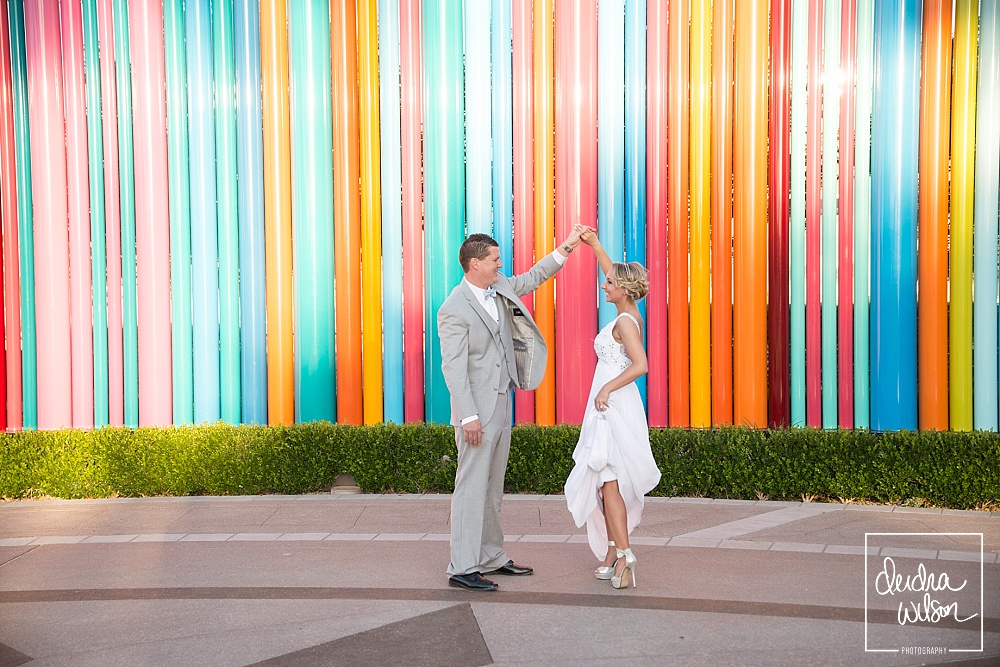 Las Vegas Arts District Wedding Photos