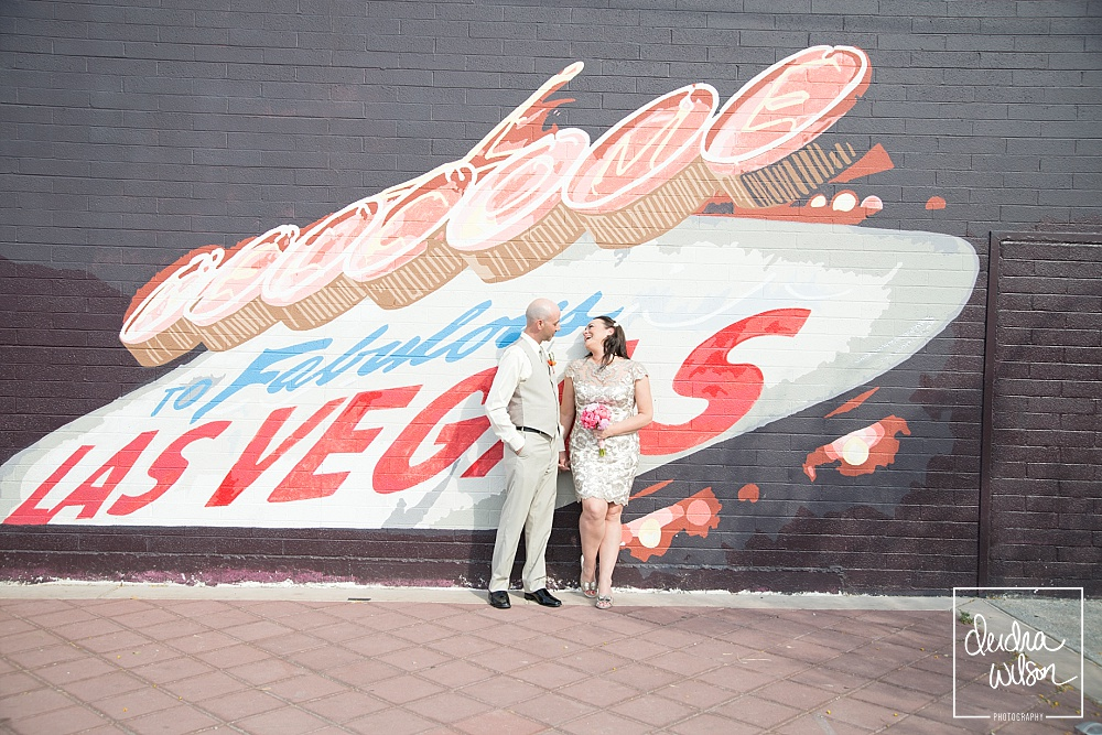Las Vegas Wedding in the Arts District