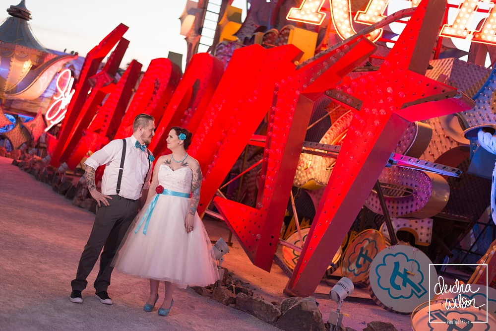 Neon Museum - Las Vegas Wedding Venue