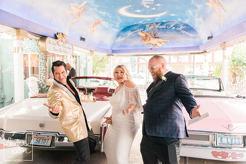 Las Vegas Elopement - A Little White Wedding Chapel