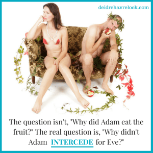 why did adam eat the apple?