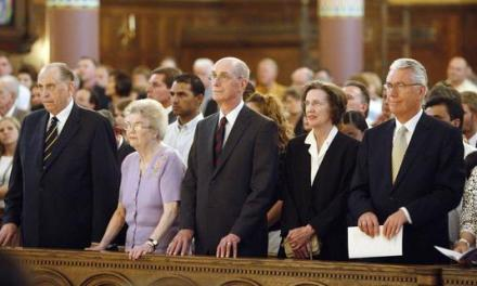 LDS Apostles and their wives