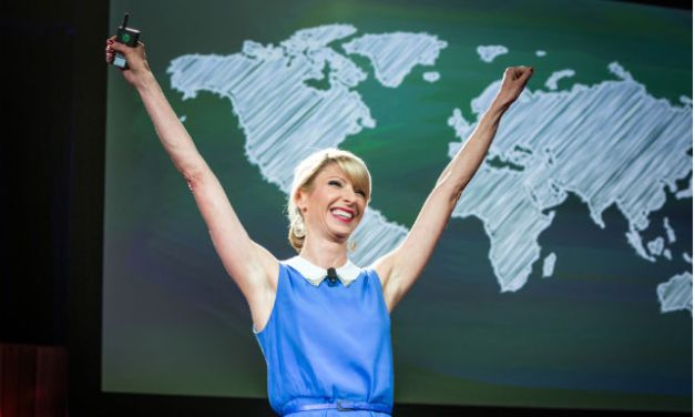 Amy Cuddy's body language